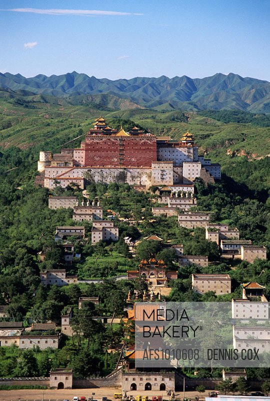 Lesser Potala, one of the outer temples. Chengde. Hebei province. China