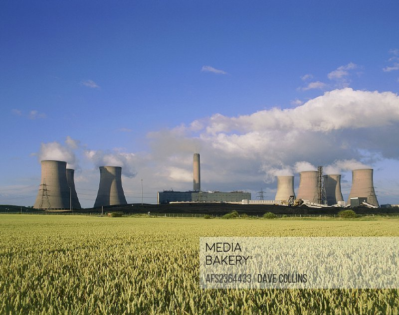10641508, outside, Cheshire, energy, England, Great Britain, Europe, factory, field, Fiddler´s Ferry power station, fossil fue