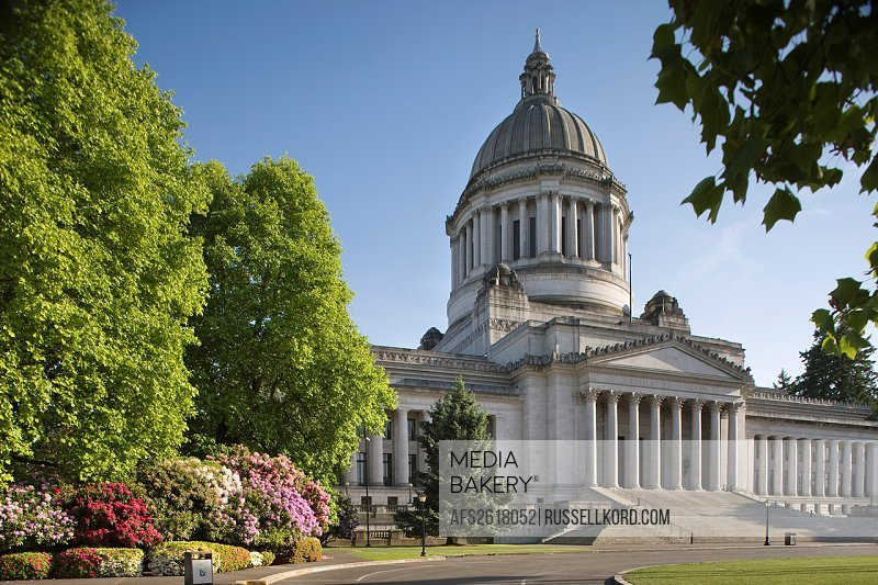 State Capitol Building Capitol Campus Olympia Washington State USA
