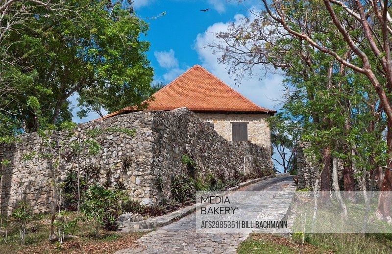 Cuba Las Terrazas in Sierra del Rosario old coffee plantation in mountains