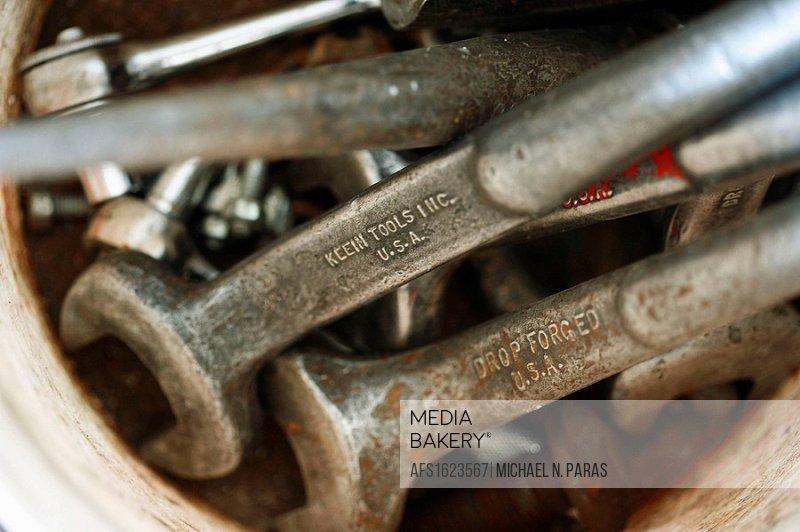 Closeup of tools