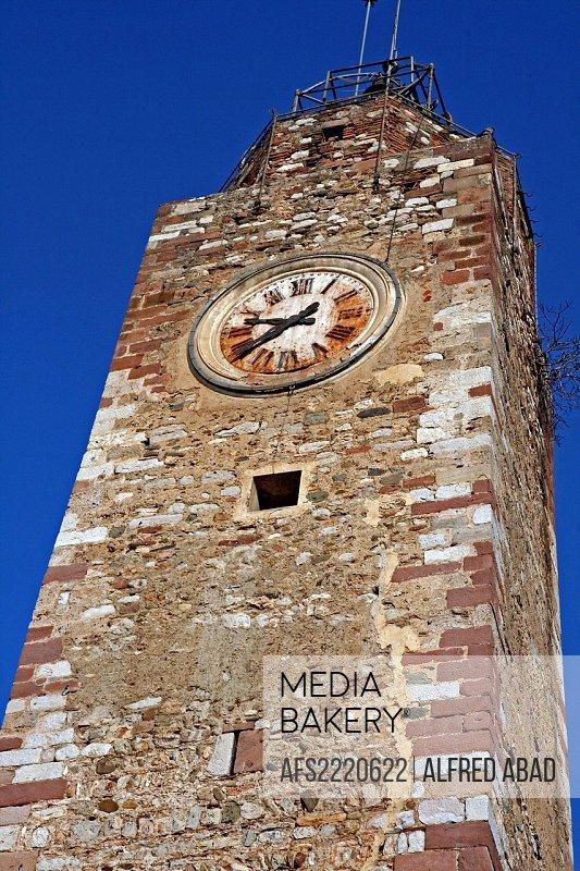 Torre del Relotje, s.XVI, Olesa de Montserrat, Catalonia, Spain