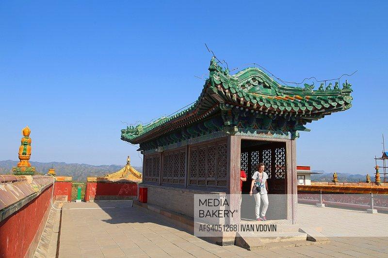 Putuo Zongcheng temple (1771), Chengde, China.