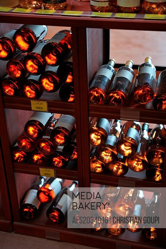 cellar of the Maison des Vins de l´Espiguette House of Wine of l´Espiguette, Grau du Roi, Gard department, France, Europe
