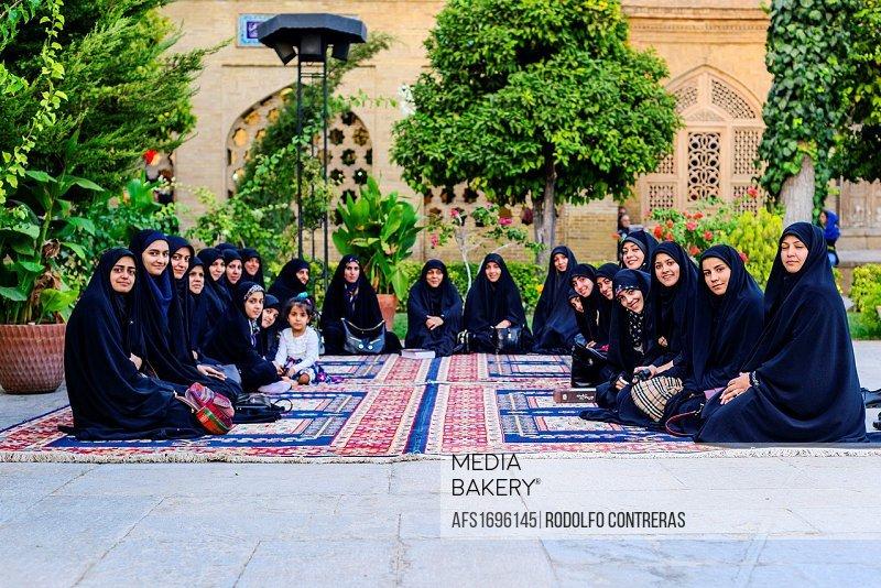 Hafez tomb, Shiraz.