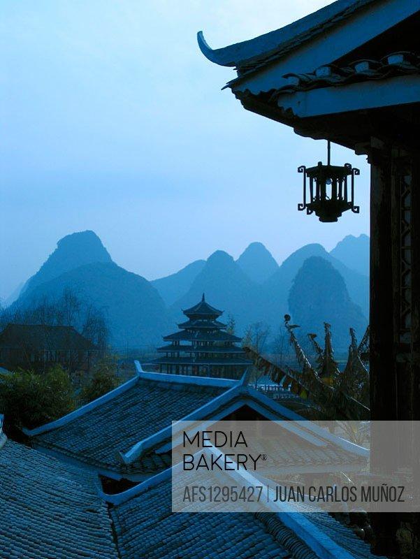 Lijiang river. Guilin. China.