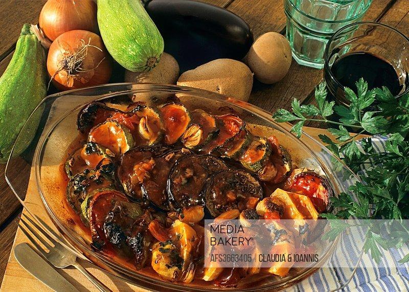 Greek vegetarian dish