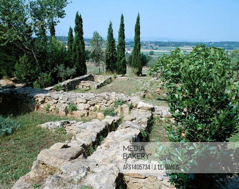 Iberian settlement, Ullastret. Baix Empordà, Girona province. Catalonia, Spain