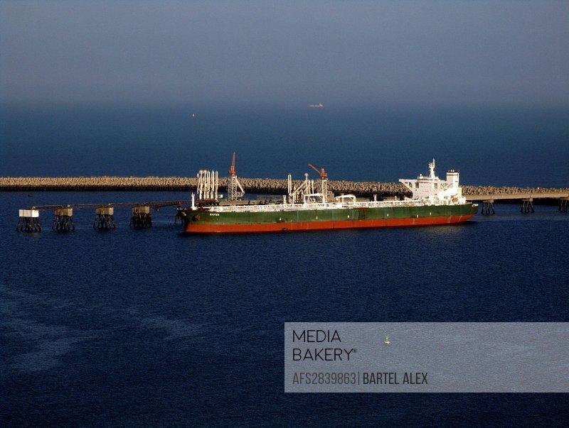 Antifer, Tanker, Port, Le Havre, Normandy, France, Europe, oil, ship, industry
