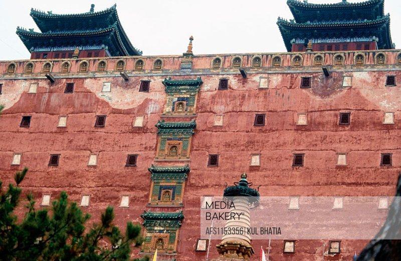 Famous temple similar to Potala Palace. Chengde. Hebei province, China