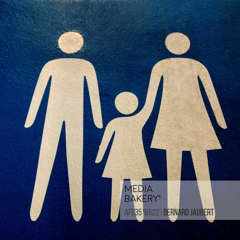 Family - parent with child symbol.