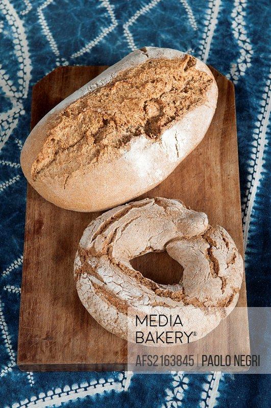 organic bread wheat and barley