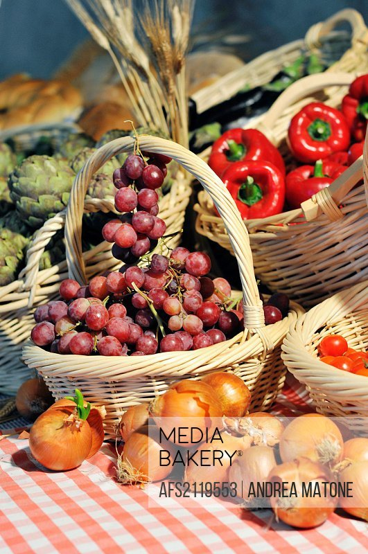 Typical Italian agricultural produce