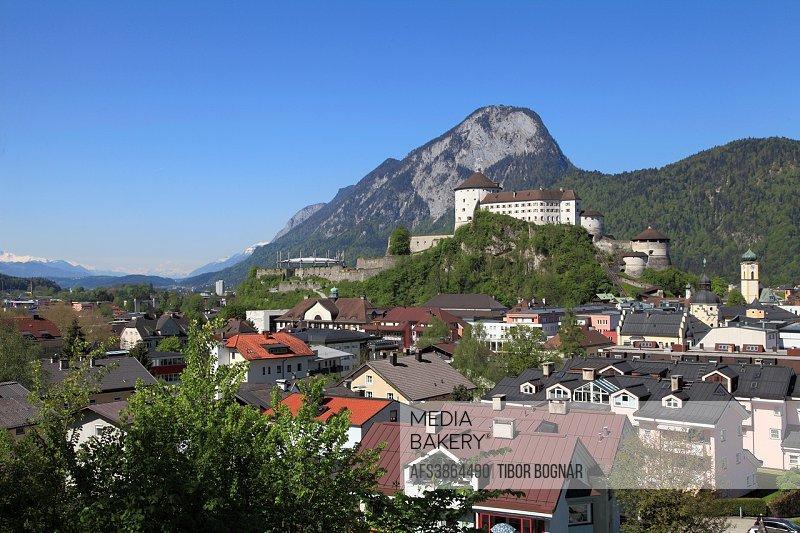 Austria, Tyrol, Kufstein, skyline, Festung, Castle,.