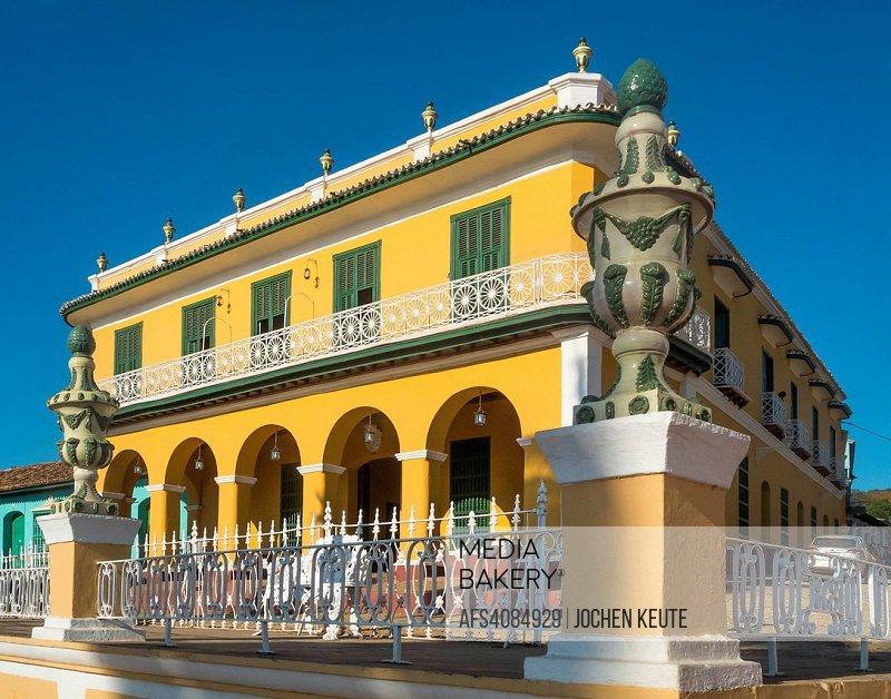 Museo Romantico.Mediabakery Photo By Age Fotostock Trinidad Cuba Museo Romantico