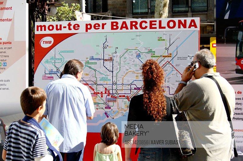 City Transportation System plan, Barcelona, Spain