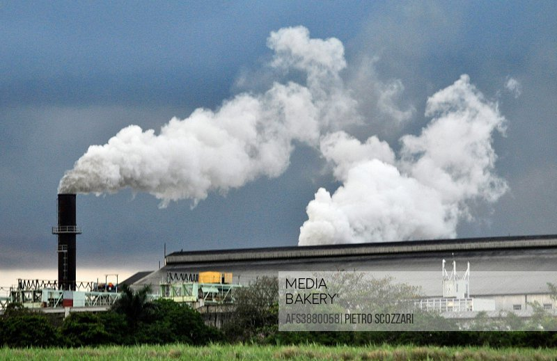 Mauritius, industry pollution