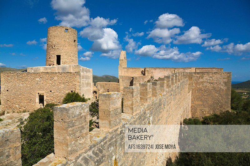 Capdepera Castle, Mallorca, Spain