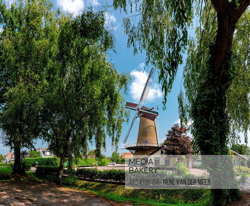 Towermill the Swan Ouddorp, Zuid-Holland, Netherlands