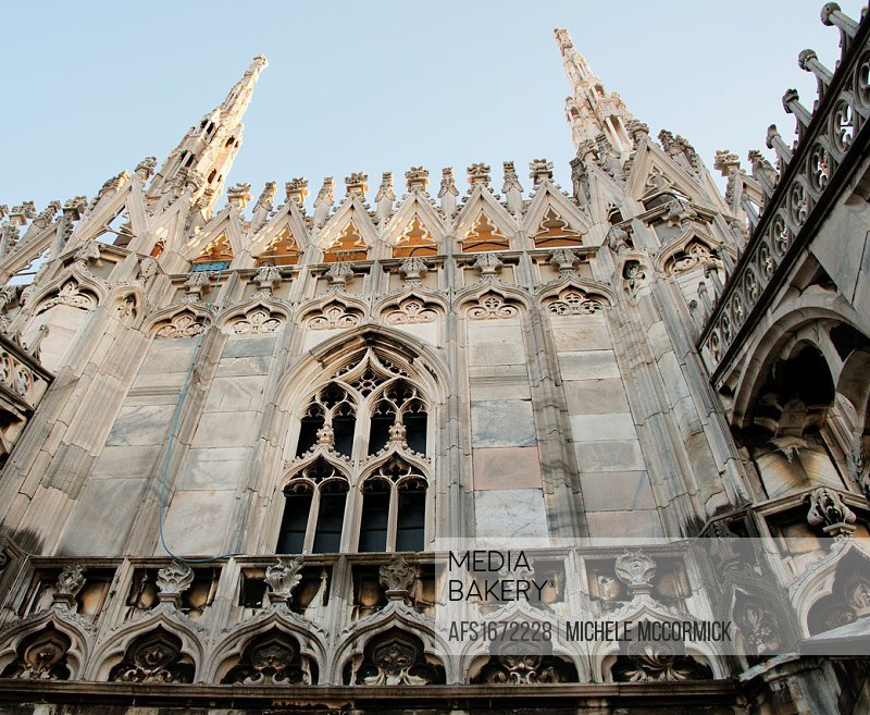 One aspect Milan´s amazing Duomo