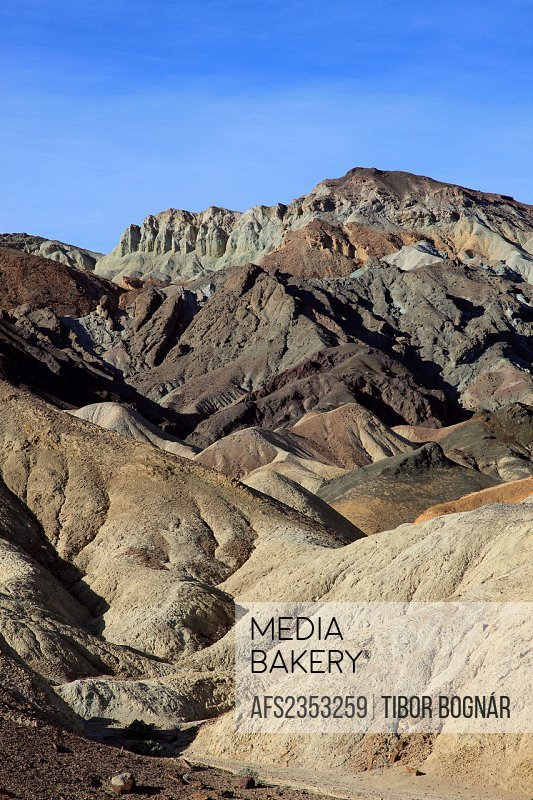 USA, California, Death Valley, National Park, Twenty Mule Team Canyon,
