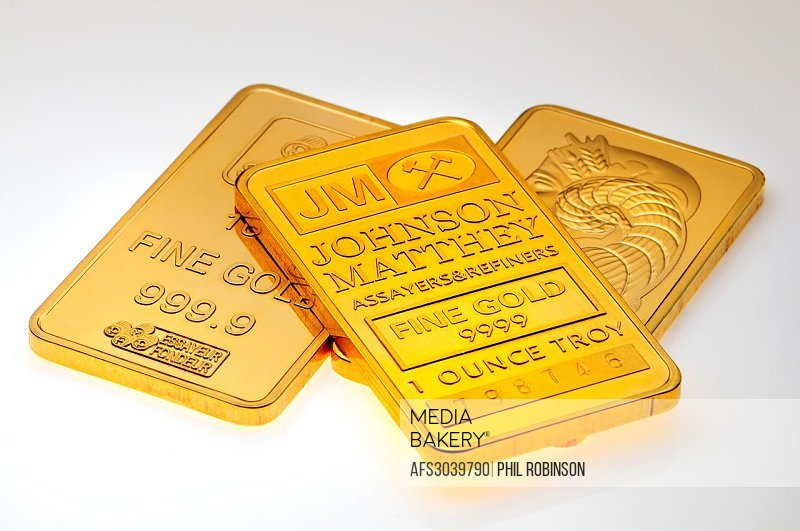 Small Gold bar / ingots [plated replicas]