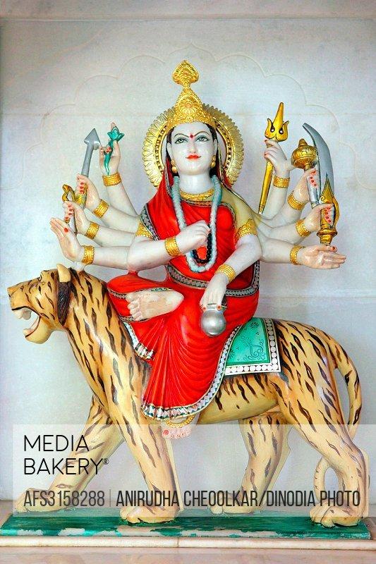 Maa Durga third aspect Maa chandra ghanta