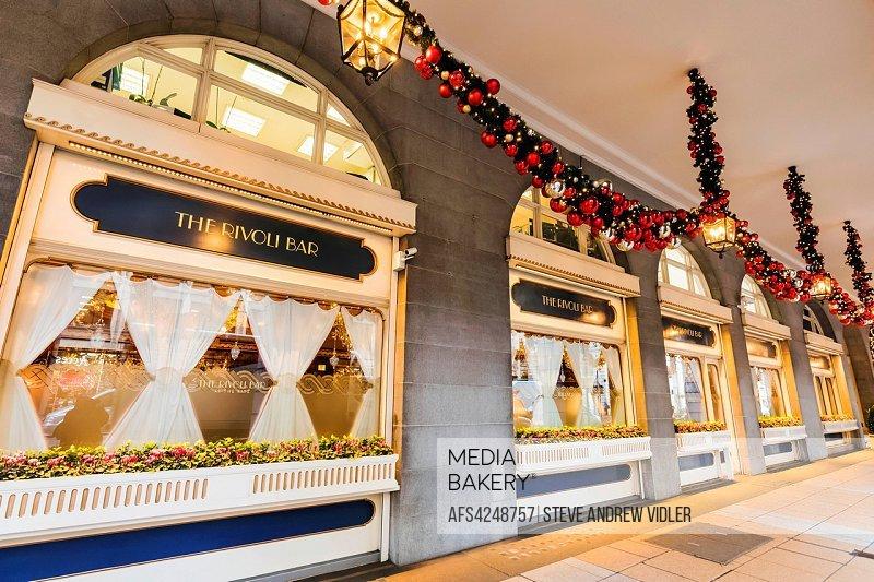 England Christmas Decorations.Mediabakery Photo By Age Fotostock England London