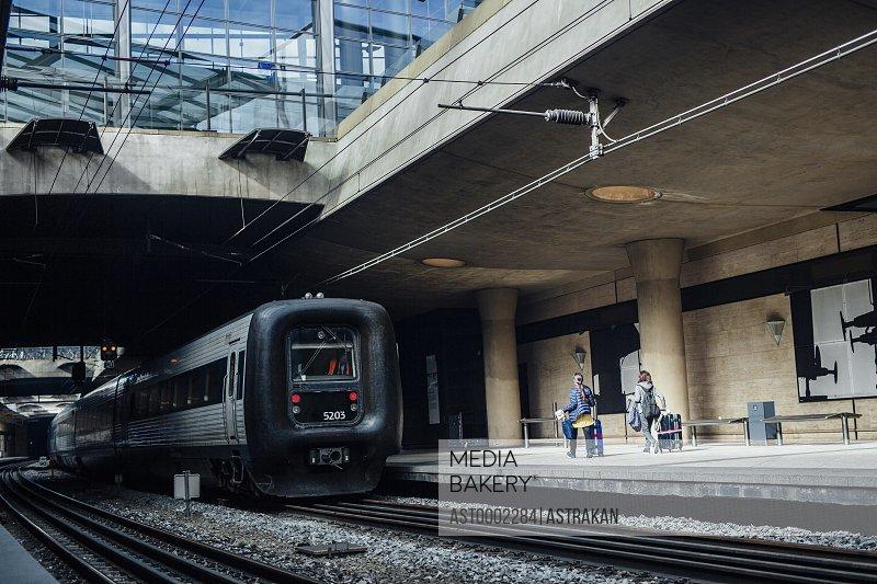 Oresundstag halted at railroad station