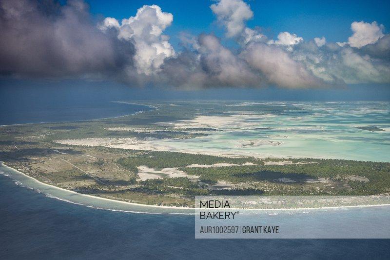 Kiribati Atoll on Christmas Island