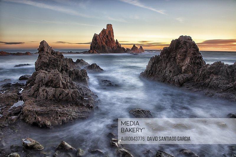 Cabo de Gata, Reef of the Mermaids, Cabo de Gata-Nijar Arrecife de las Sirenas, Biosphere Reserve, Almeria province, Andalucia
