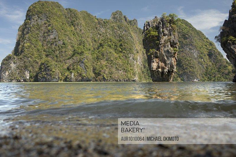 James Bond Island during daytime, Khao Phang Nga, Thailand