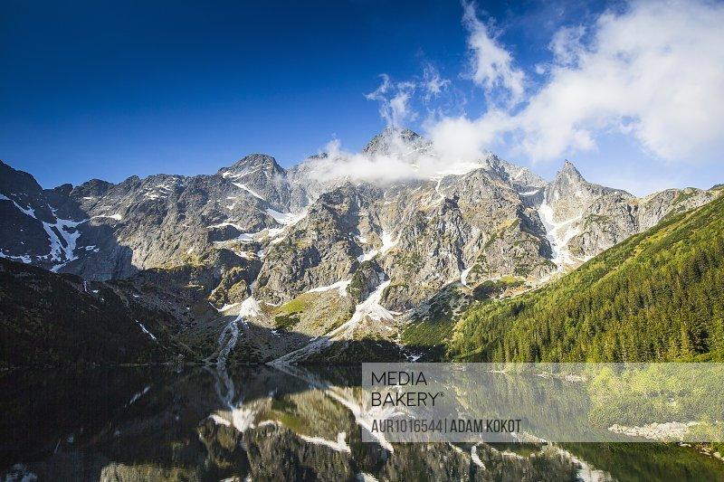 Morskie Oko, Tatra Mountains, Malopolskie Province, Poland