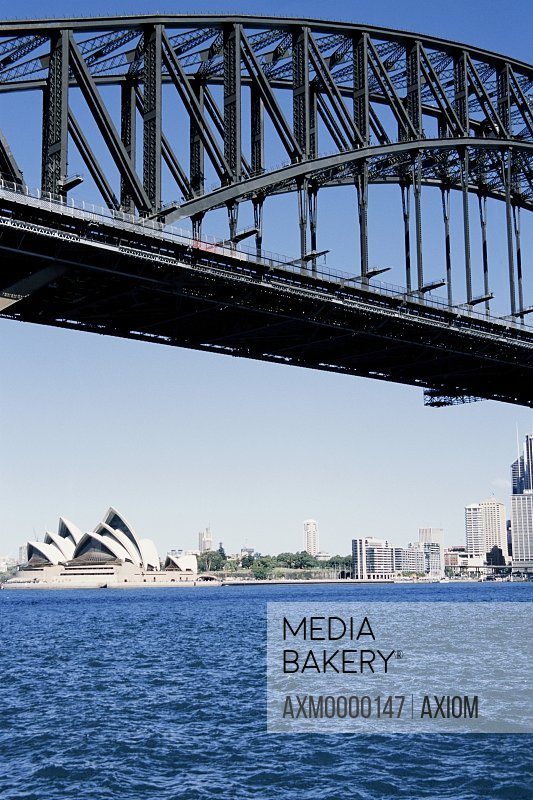 Sydney Harbor Bridge And Skyline
