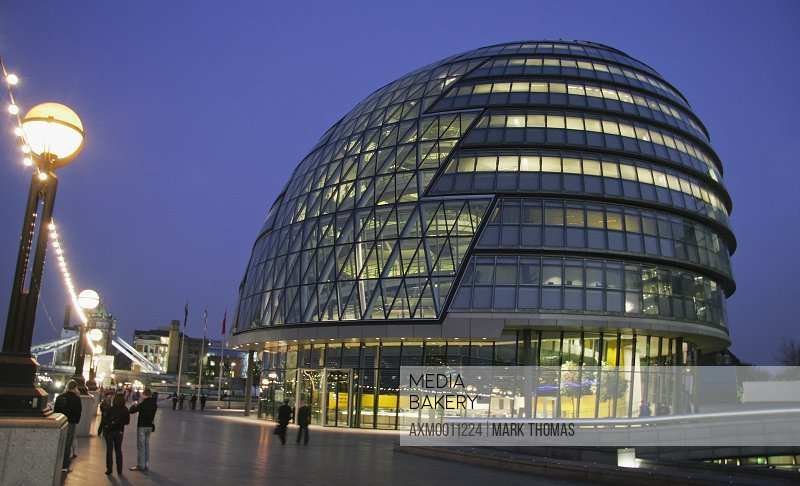 The Greater London Authority Building