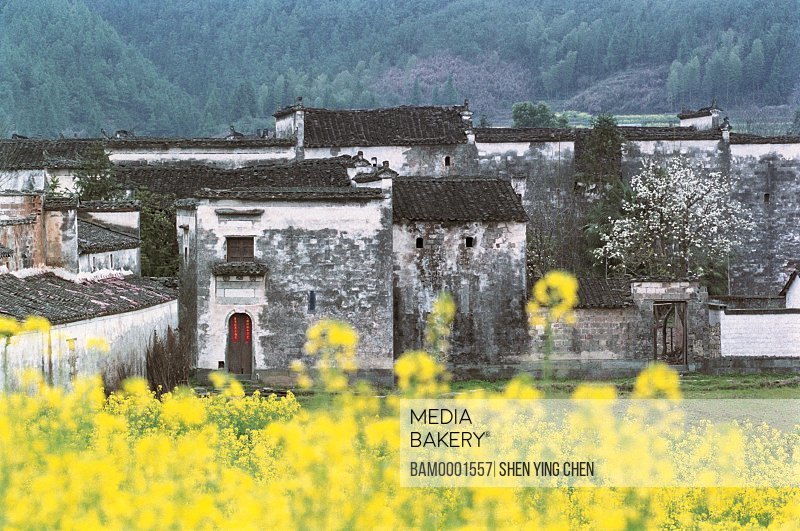 Ming and Qing dynasty historic building of Yan village, Wuyuan County, Jiangxi Province of People's Republic of China