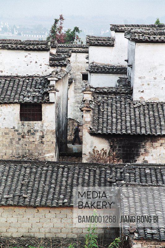 Residence in Ancient Pingshan Village, Yixian County, Anhui Province, PRC