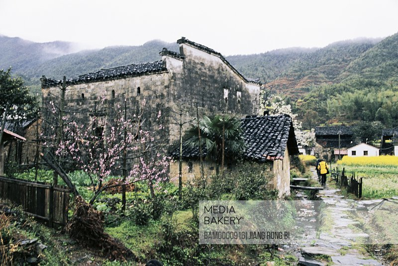 Ancient common people residence of Qinyuan Village, Wuyuan County, Jiangxi Province, People's Republic of China