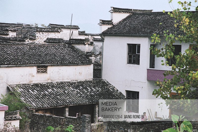 Ancient Residence in Ancient Pingshan Village, Yixian County, Anhui Province, PRC
