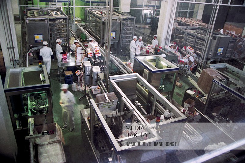 Workshop of Dacheng Dairy , Nanping City, Fujian Province, People's Republic of China