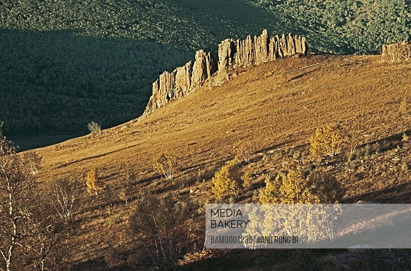 Landscape of stones in Asihatu, Keshiketengqi, Chifeng City Inner Mongolia Autonomous Region of People's Republic of China