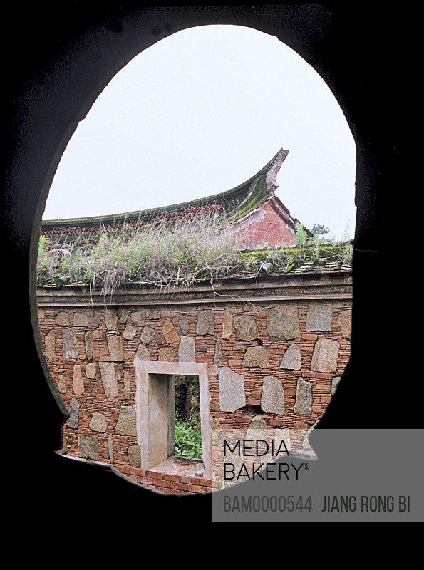 View of a house through window, Window of Houses in Juren Village, Wangchuan Town, Huian County, Fujian Province, People's Republic of China