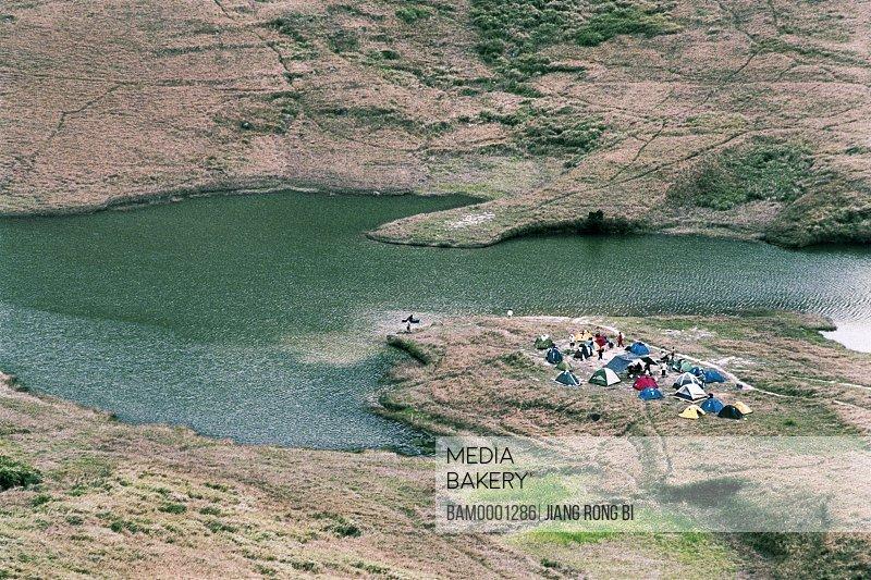 Tourist Camp on Dayushan Island, Sansha Town, Ningde City, Fujian Province, PRC
