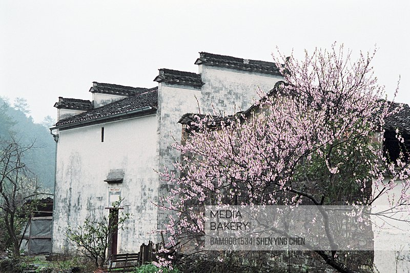 Ming and Qing dynasty historic building of Likeng village, Jiangling Village, Wuyuan County, Jiangxi Province of People's Republic of China
