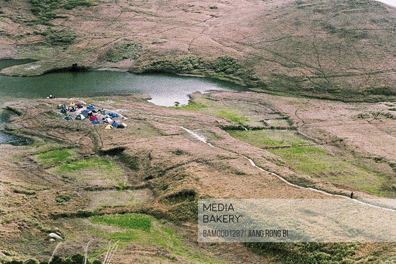Tourist Camp on Dayushan Island , Sansha Town, Ningde City, Fujian Province, PRC