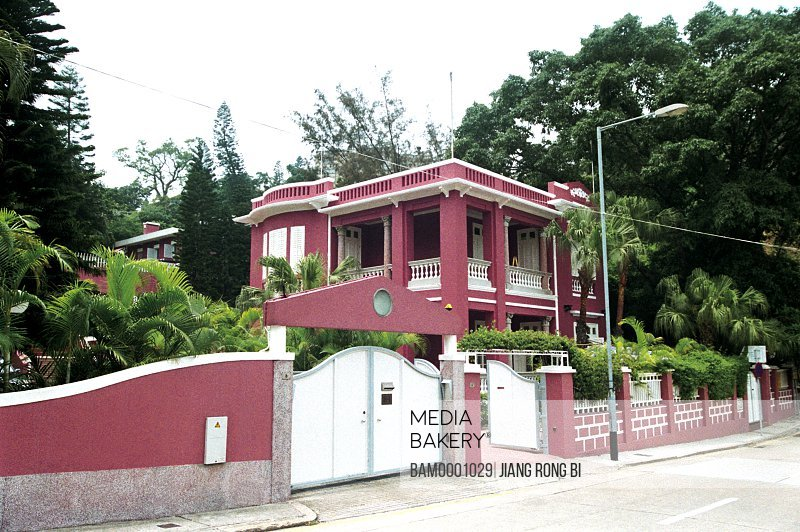 View of Macao private garden villa, Macao special administration region of People's Republic of China