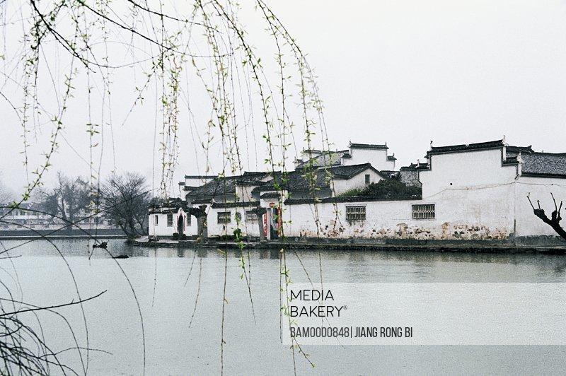 Nanhu Lake in Hongcun village, Yixian County, Anhui Province, People's Republic of China
