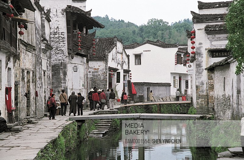 Ming and Qing dynasty historic building of Likeng village, Wuyuan County, Jiangxi Province of People's Republic of China