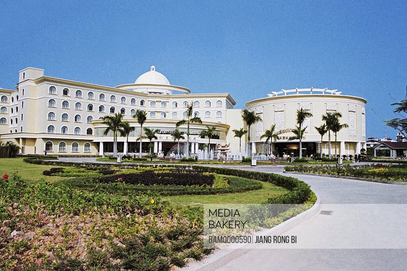 Gambling house in Vietnam-Wanhuan hotel, The only gambling house in Vietnam-Wanhuan Hotel, Haifang City, Vietnam