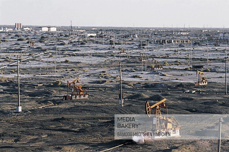 Karamay Oil Field, Kelamayi County, Xinjiang Uygur Autonomous Region of People's Republic of China